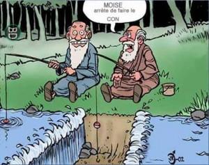 Humour Moïse, arrête....
