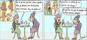 Humour, les progrès de la médecine