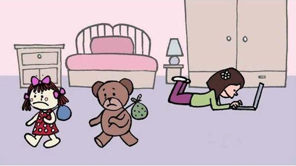 Poupée-et-Teddy-sen-vont
